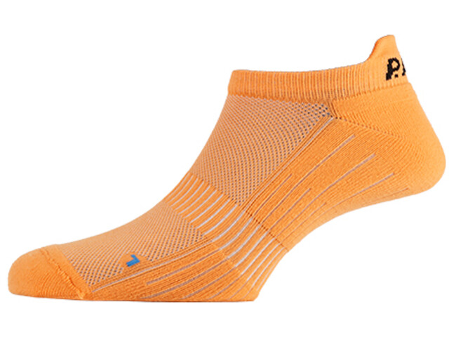 P.A.C. SP 1.0 Footie Active Kurze Socken Herren neon orange